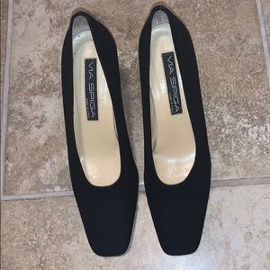 Via Spiga Black Heels Size 8
